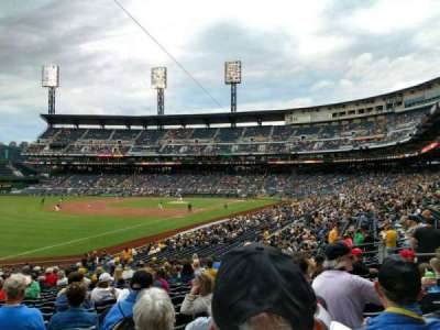 PNC Park, section: 130, row: T, seat: 13