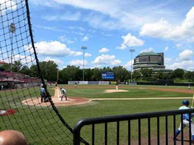 Yogi Berra Stadium, section: J, row: 2, seat: 16