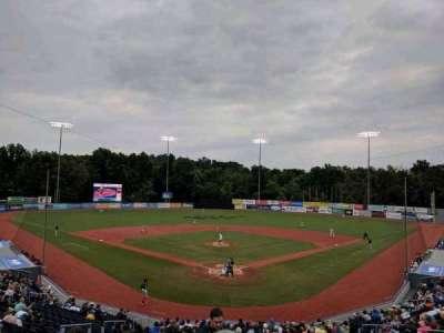 Dutchess Stadium, section: 204, row: KK, seat: 15