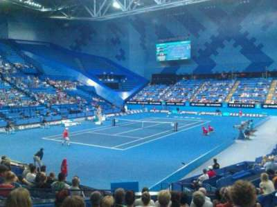 Perth Arena, section: 207, row: J, seat: 10