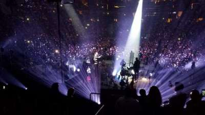 Madison Square Garden, section: 113, row: 12, seat: 1