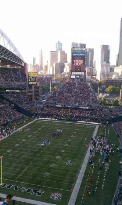 CenturyLink Field section 319