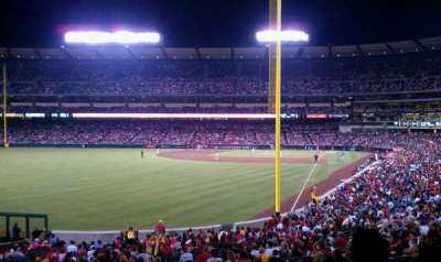 Angel Stadium section 201