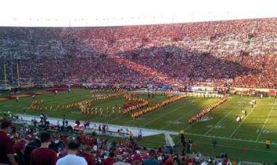 Los Angeles Memorial Coliseum section 5H