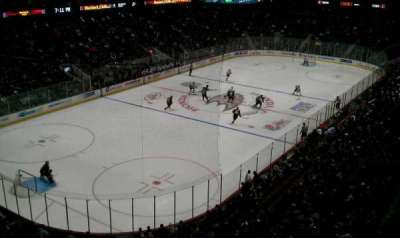 Honda Center, section: 440, row: A, seat: 3
