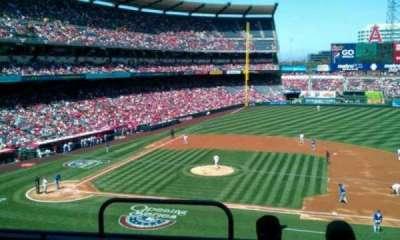 Angel Stadium, section: C335, row: d, seat: 1