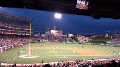Angel Stadium, section: T221, row: H, seat: 9
