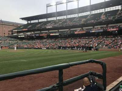 Oriole Park at Camden Yards section 54