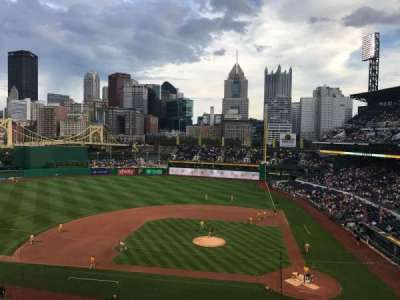 PNC Park, section: 221, row: A, seat: 5