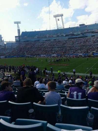 EverBank Field section 132
