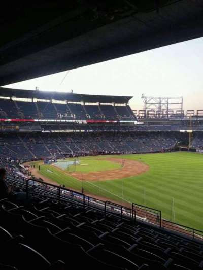 Turner Field, section: 323R, row: 9, seat: 8