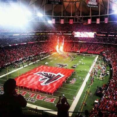 Georgia Dome, section: 305, row: 8, seat: 3