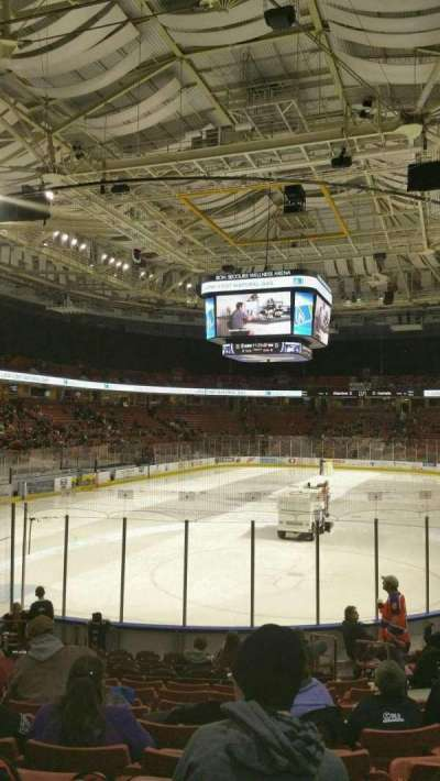 Bon Secours Wellness Arena, section: 109, row: K, seat: 6