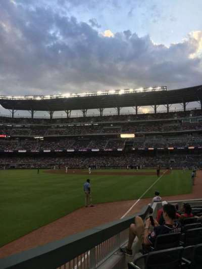 SunTrust Park, section: 42, row: 12, seat: 14