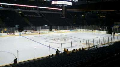 Bridgestone Arena, section: 104, row: G, seat: 17
