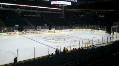 Bridgestone Arena, section: 104, row: G, seat: 17