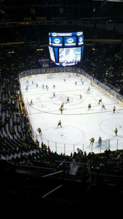 Bridgestone Arena, section: 333, row: H, seat: 13