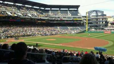 PNC Park, section: 107, row: Y, seat: 18