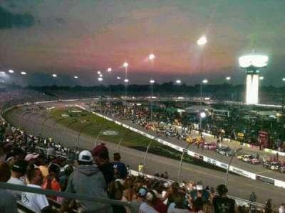 Richmond International Raceway, section: Veranda D, row: 20, seat: 3