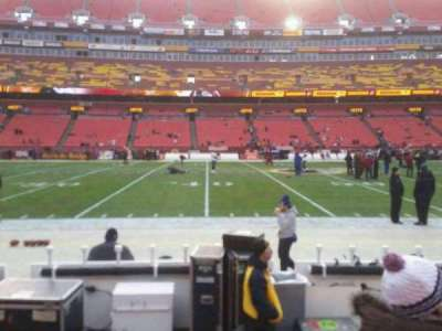 FedEx Field, section: 122, row: 1, seat: 17, 18, 19