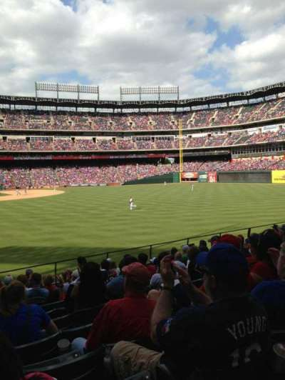 Globe Life Park in Arlington section 44
