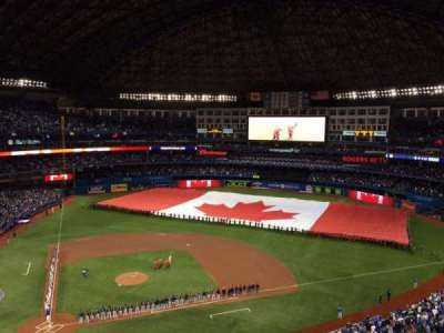 Rogers Centre, section: 521R, row: 10, seat: 6