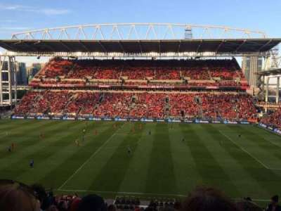 BMO Field, section: 222, row: 11, seat: 17