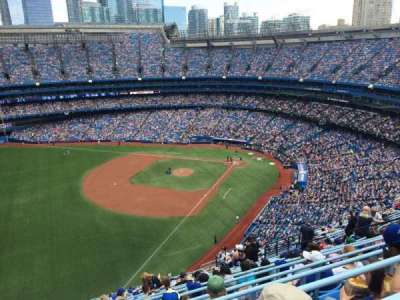 Rogers Centre, section: 537R, row: 21, seat: 11