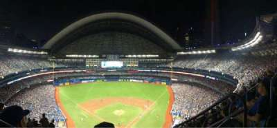 Rogers Centre, section: 524B, row: 108, seat: 102