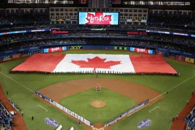Rogers Centre, section: 524BR, row: 22, seat: 9