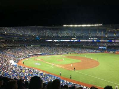 Rogers Centre, section: 214R, row: 12, seat: 5