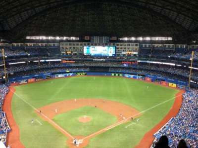 Rogers Centre, section: 524, row: 22, seat: 10