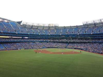 Rogers Centre, section: 244L, row: 2, seat: 109
