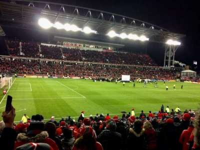 BMO Field, section: 110, row: 17, seat: 27