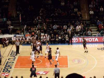Madison Square Garden, section: 311, row: D