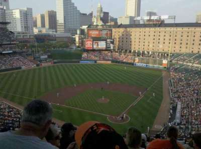 Oriole Park at Camden Yards, section: 342