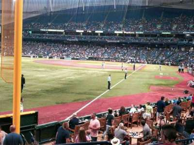 Tropicana Field section 137