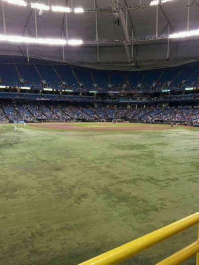 Tropicana Field section Center Field