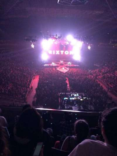 KeyArena, section: 206, row: 4, seat: 7-8