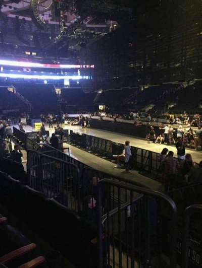 Madison Square Garden, section: 109, row: 5, seat: 13
