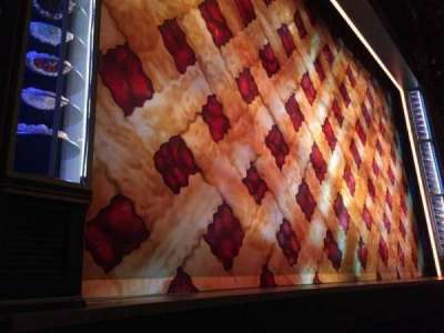 Brooks Atkinson Theatre, section: ORCHL, row: A, seat: 9