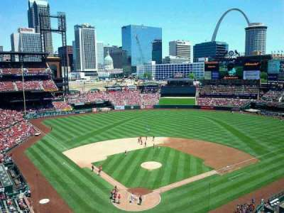 Busch Stadium section 350