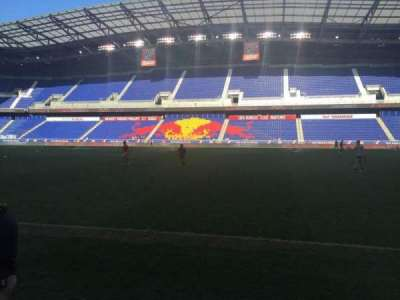 Red Bull Arena, section: 108, row: 1