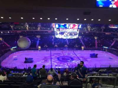 Madison Square Garden, section: 210, row: 15, seat: 17