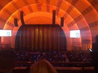 Radio City Music Hall section 1st Mezzanine 3