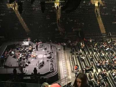 Madison Square Garden, section: 222, row: 12, seat: 21