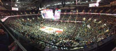 Quicken Loans Arena, section: 229, row: 1, seat: 8