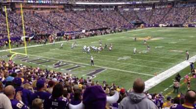Mall Of America Field, section: 119, row: 24, seat: 24