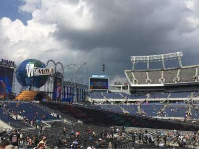 Camping World Stadium, section: 209, row: 12, seat: 1