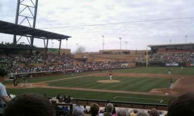 Salt River Fields, section: 206, row: 7, seat: 9